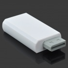 HDMI 720P/1080P + 3.5mm Audio Converter Adapter for WII - White