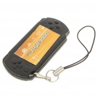 Unique PSP Style Whistle Cell Phone Strap - Black