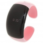 Stilvolle Bluetooth V2.1 Armband w / Vibration Funktion + Digital Time - Pink