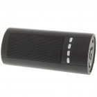 Portable USB Rechargeable Music Speaker w/ Micro SD/Mini USB/FM - Black