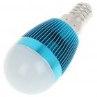 E14 6500K 3W 260-Lumen White LED Light Bulb - Light Blue (85~245V)