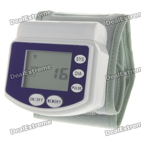 "1.6"" LCD Digital Blood Pressure Monitor (2 x AAA)"