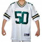 NFL American Football Jersey - Green Bay Packers No. 50 HAWK (Size 52)