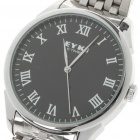 Stylish Stainless Steel Quartz Wrist Watch - Black (1 x LR626)