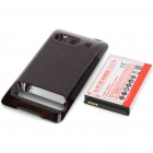 Replacement 3.7V 3500mAh Battery w/ Battery Cover for HTC EVO 4G - Red