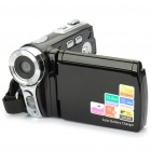 "Solar Powered 2.8"" LCD 5MP Digital Video Camcorder w/ 4X Digital Zoom/AV-Out/SD"