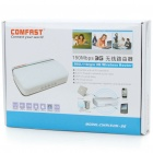 Portable 3G/WCDMA/EVDO/TD-WCDMA USB WIFI Wireless Broadband Router - White