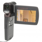 "2,7 ""TFT Touch Screen 5.0MP CMOS Digital-Camcorder w / 4x digitaler Zoom / TV-Out / HDMI / SD Slot"