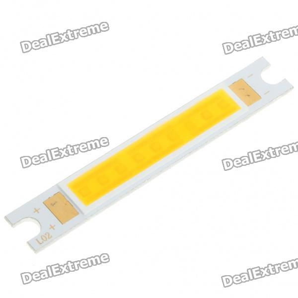 3500K 10W 700-Lumen Warm White LED Emitter Metal Strip (9~11V)