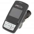 "1.6"" LCD Car MP3 Player FM Transmitter w/ Remote controller/SD/MMC/USB - Black"