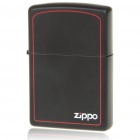 Genuine Zippo Copper Fuel Fluid Lighter - Black