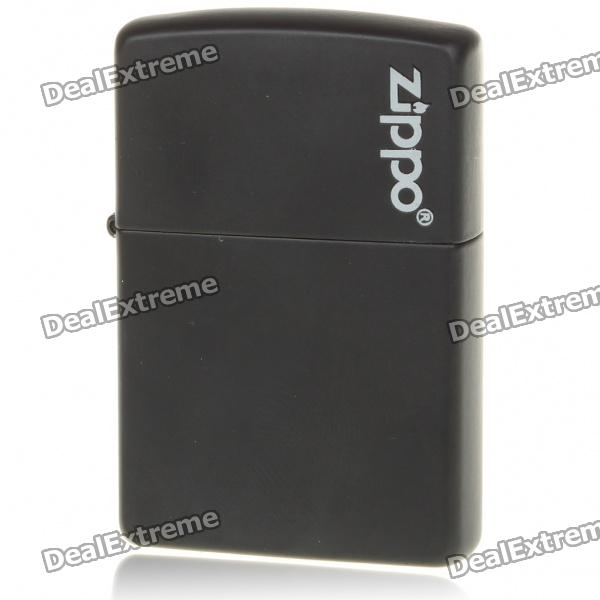Genuine Zippo Fuel Copper Fluid Lighter - Black