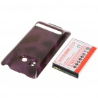 Replacement 3.7V 3500mAh Battery w/ Battery Cover for HTC EVO 4G - Purple