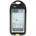 Waterproof Housing Case for Iphone 4 - Black