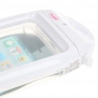 Waterproof Housing Case for iPhone 4 - White