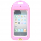 Waterproof Housing Case for iPhone 4 - Pink