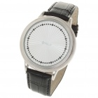 Stylish Touch Screen Digital Wrist Watch - Silver + White (1 x LR626)