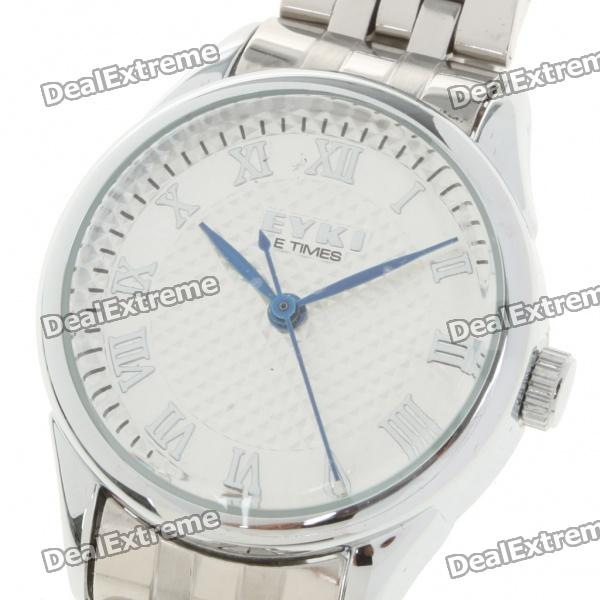 Stylish Lady's Stainless Steel Quartz Wrist Watch - Silver (1 x LR626)