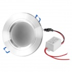 "3.0"" 3200K 5.5W 500LM 25x5050 SMD LED Warm White Ceiling Lamp/Down Light w/ LED Driver (85~245V)"