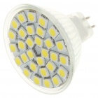 MR16 6500K 5.5W 360-Lumen 30x5050 SMD LED White Light Bulb (12V)