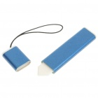 Flat Touch Screen Stylus with Strap for Nokia N97 - Blue