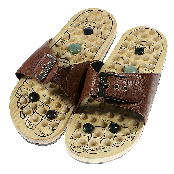 ebc47806fef Acupunctural Magnetic Massaging Slippers (Size-44) - Free Shipping -  DealExtreme