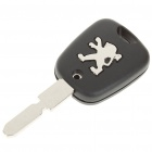 Replacement 2-Button Transponder Smart Key Casing for Peugeot