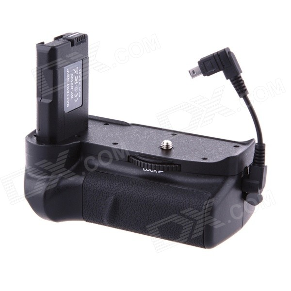 Vertical External Battery Grip for Nikon D3100 new vertical battery grip pack 2x en el14 decoded battery for nikon d3100 d3200 d3300 camera 2 step shutter free shipping