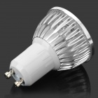 GU10 4W 350-Lumen 6500K Cold White Light 4-LED Cup Bulb (85~245V)