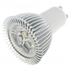 GU10 3W 260-Lumen 3500K Warm White Light 3-LED Cup Bulb (85~245V)