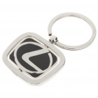Stylish Alloy Keychain with Car Logo - Lexus