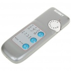Multi-Speed Vibration Massager - Grey + White (2 x AAA)