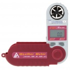 "AZ8910 1.5"" LCD Multi-Function Digital Wind Speed Anemoscope Weather Meter (1 x CR2032)"