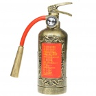 Unique Fire Extinguisher Style MP3 Music Speaker Player with USB/SD/FM/Remote Controller - Bronze