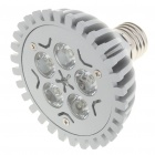 E27 5W 6000-6500K 450LM White 5-LED Light Bulb (85-240V)