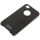 Ultrathin Painting Hard Plastic Case for iPhone 4 - Black