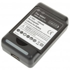 3.7V 1500mAh Battery Pack + Charger for Sony Ericsson X12 - Black