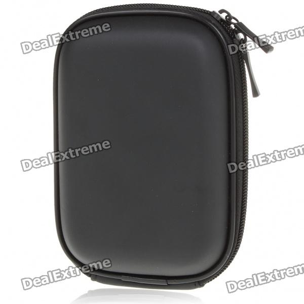 Protective Fiber Carrying Bag w/ Carabiner for Panasonic TZ3/TZ5/TZ15/ZS7