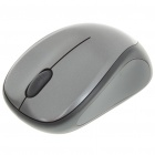 Genuine Logitech 2.4GHz Wireless 1000DPI USB Optical Mouse w/ Receiver - Grey