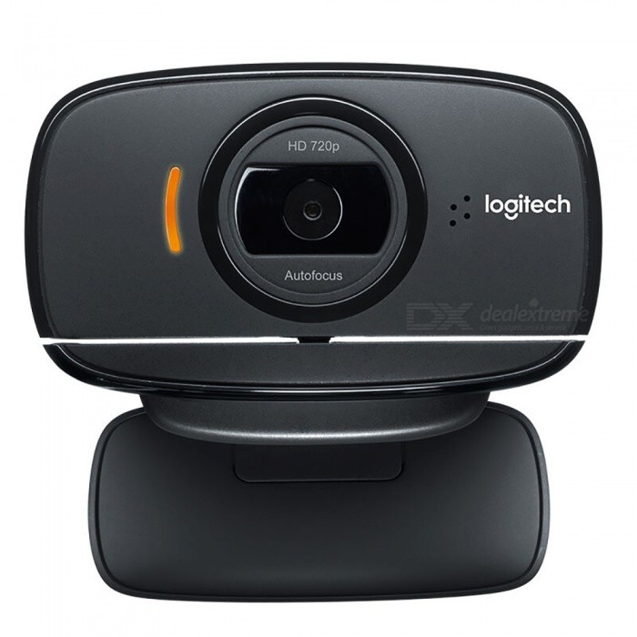 Genuine Logitech Webcam USB 2.0 720 P w / micrófono - Negro