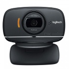 Genuine Logitech USB 2.0 720P Webcam w/ Microphone - Black