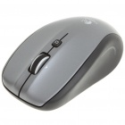Genuine Logitech 2.4GHz Wireless 1000DPI USB Optical Couch Mouse w/ Receiver - Grey