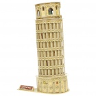 Intellectual Development DIY 3D Paper Puzzle Set - Leaning Tower of Pisa
