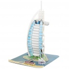 Intellectual Development DIY 3D Paper Puzzle Set - Burj Al Arab