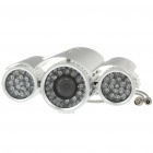 1/3 CMOS 300KP Waterproof Surveillance Security Camera with 74-LED Night Vision (DC 12V)