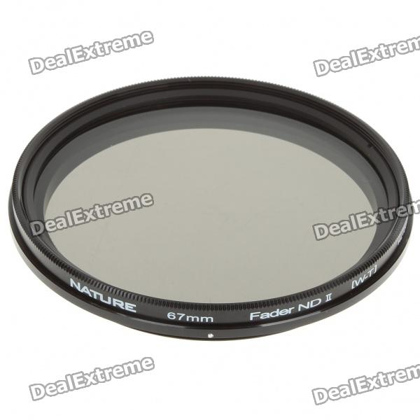 Neutral Density ND2-ND400 Fader ND Filter (67mm) fotga neutral density nd2 nd400 fader nd filter 72mm