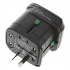 Universal Dual-USB Travel AC Power Adapter/Charger (Black)
