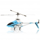 M3 USB Rechargeable Wireless Remote Control 3.5-CH Helicopter with Gyroscope - Blue (IR Remote)