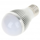 E27 3W 3-LED Slots Aluminum Alloy Bulb Shell