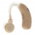 Behind Ear Volume Adjustable Sound Voice Amplifier Hearing Aid (1 x AG-13)